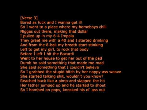 Boyz N Da hood - Eazy E Lyrics