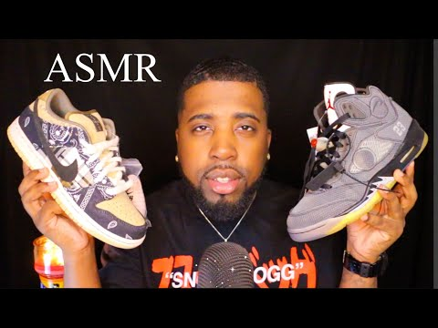 ASMR | SNEAKER COLLECTION PART #5👟🔥🧯 | NEW SNEAKERS🔥 (Relaxing Sounds 🤤)