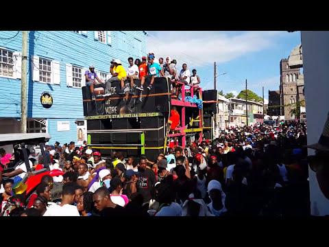 Nu Vybes Band On Church Street (Sugar Mas...