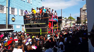 Nu Vybes Band On Church Street (Sugar Mas Jouvert 2016,2017)