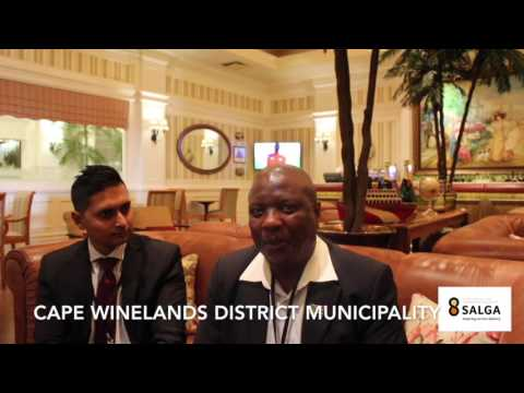 Cape Winelands District Municipality SALGA NMA 2016 Interview