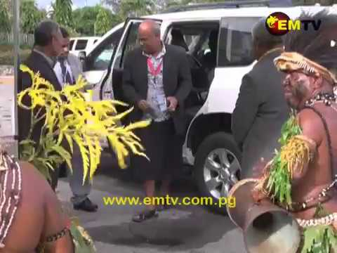 PNG Prime Minister Assumes MSG Chairmanship from Solomon Islands
