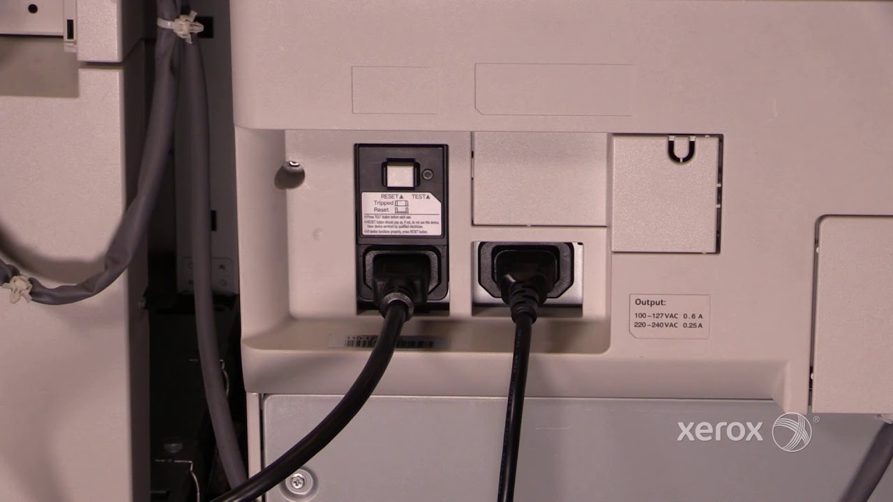 USB cable for Xerox WORKCENTRE 7225