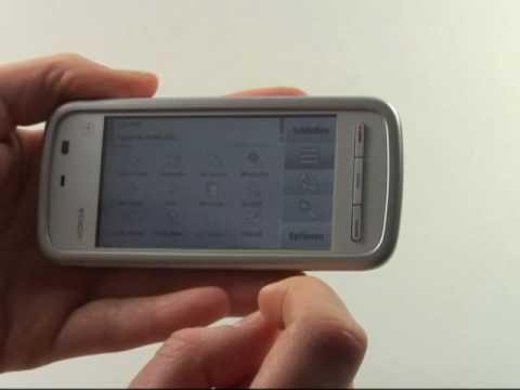 Nokia 5230 Test Internet