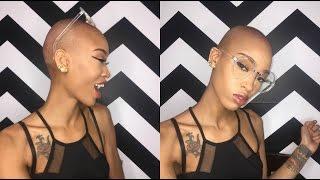 I Shaved My Head OMG ! | Vee Vee