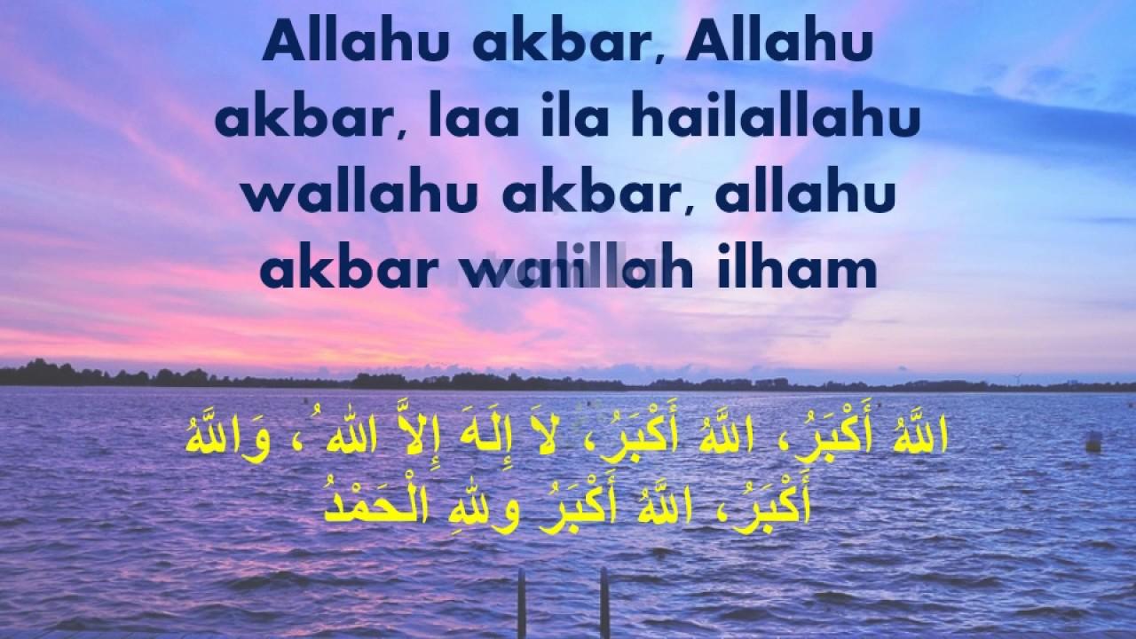 Taqabbalallahu Minna Wa Minkum Video Ucapan Selamat Hari Raya Idul