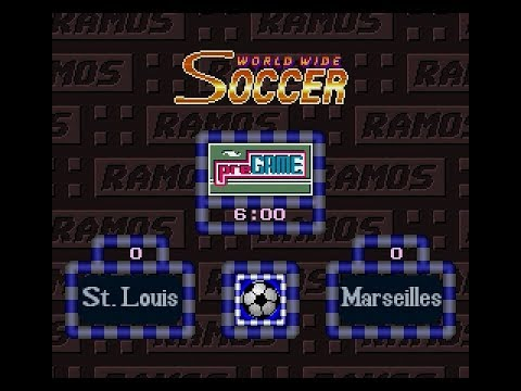 Ramos Rui no World Wide Soccer | Challenge Cup | World Round 12 | St. Louis vs Marseilles | SGCTS