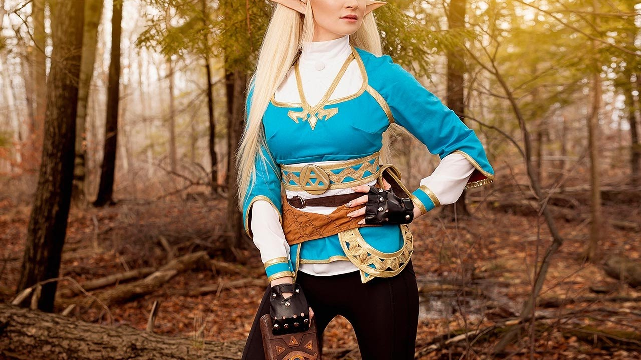 Princess Zelda Cosplay Costume Meningrey