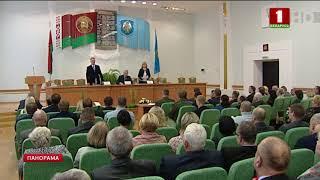 Нового руководителя Шумилинского района Олега Быкова представили активу региона