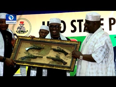 Gov Okorocha Honoured As Most Outstanding Police Governor Of The Year |Metrofile|