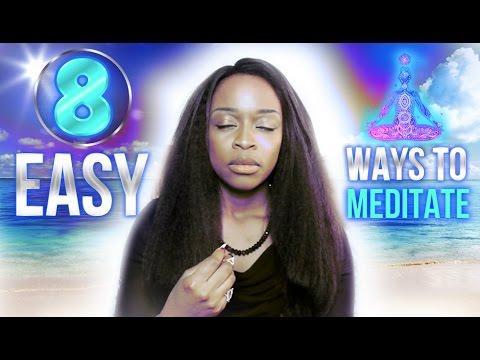 8 Easy, Fun Ways To Meditate