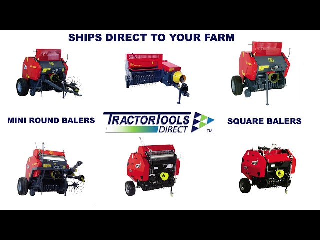 Hay Balers by Tractor Tools Direct