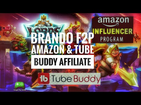Lords Mobile - Amazon And Tube-Buddy Affiliate