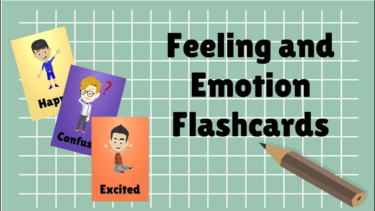 Feeling and Emotion Flashcards | by Baby A Nursery Channel - YouTube