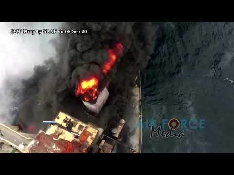 Fresh fire hits oil supertanker off Sri Lanka