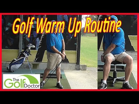 4 Golf Warm Up Stretches