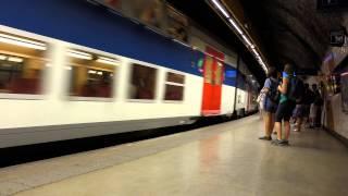 RER St Michel Notre Dame