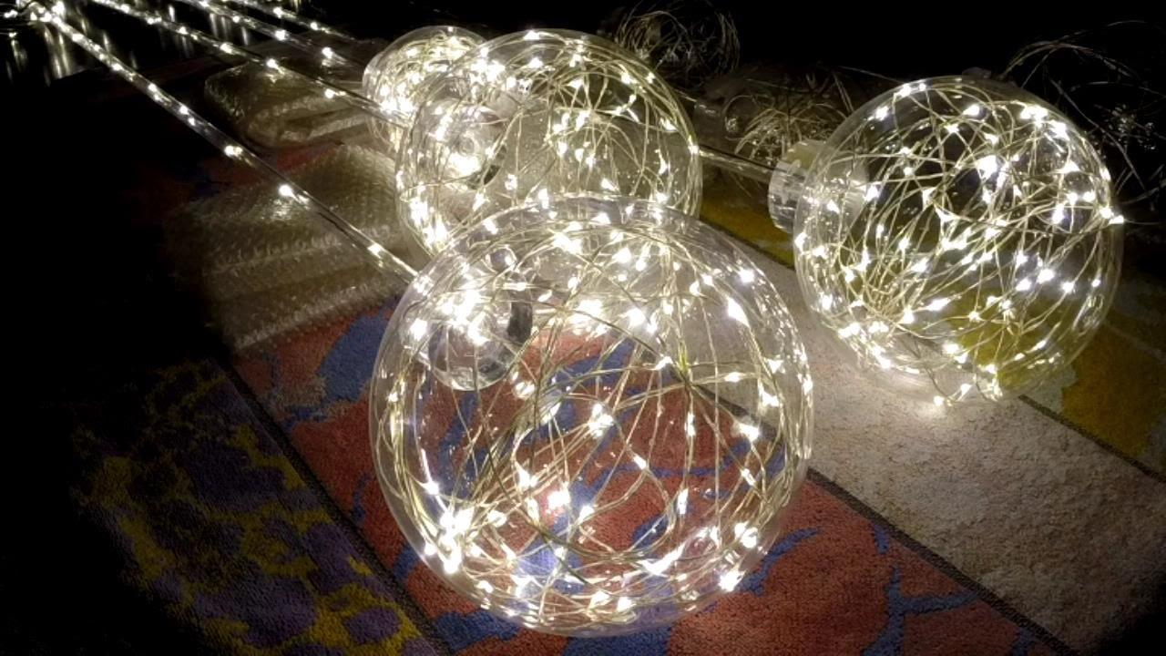Dew Drop LED Pendant Light Part 2 - YouTube