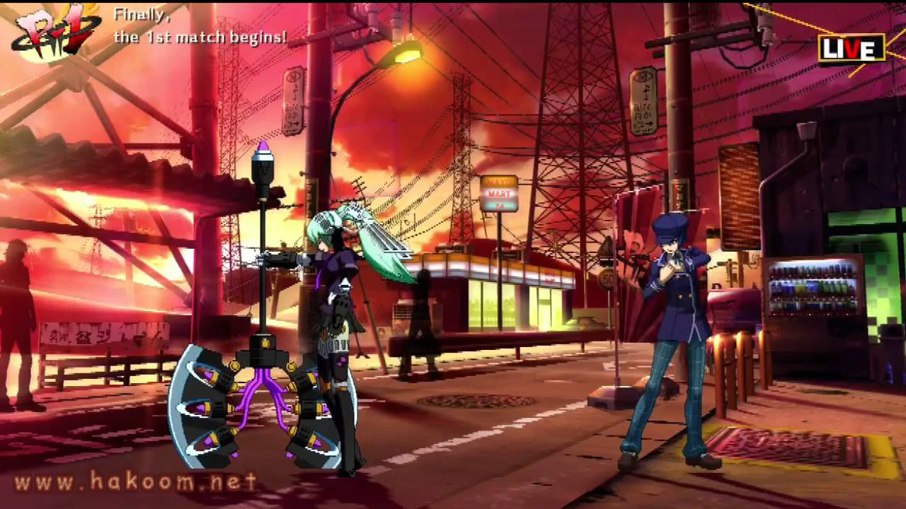 Persona 4 Arena Gameplay Ps3 Xbox360 Youtube