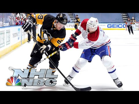 NHL Stanley Cup Qualifying Round: Canadiens vs. Penguins | Game 1 EXTENDED HIGHLIGHTS | NBC Sports
