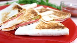 Пиццадилья пошаговый рецепт