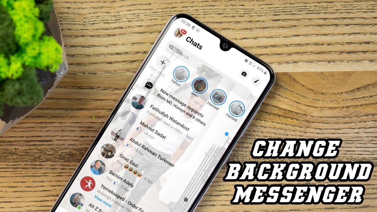 Change Facebook Messenger Background 2020 New Trick Youtube