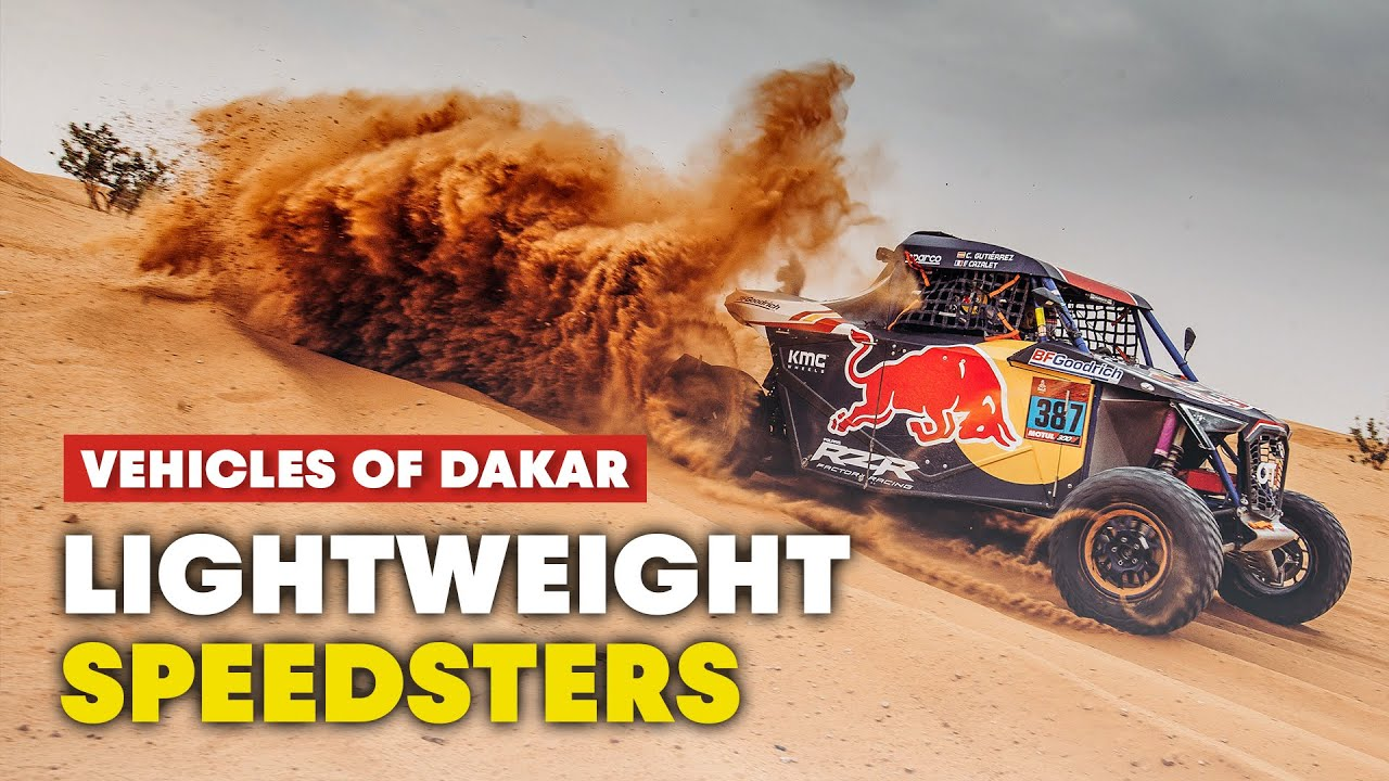 The Newest Vehicles of Dakar: Side by Sides and Quads