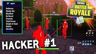 LE PLUS GROS HACKER #1 SUR FORTNITE : BATTLE ROYALE !! FORTNITE WALLHACK & AIMBOT !