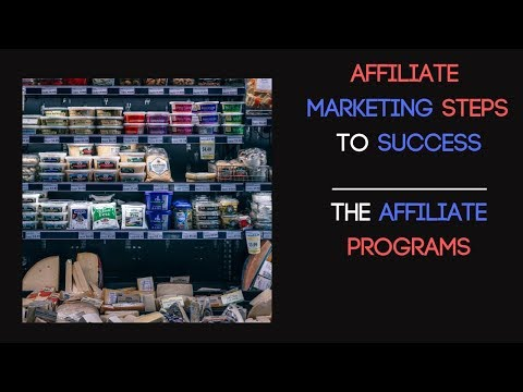Affiliate marketing steps for beginners – Your affiliate network