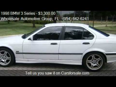 1998 BMW 3 Series 328i 4dr Sedan for sale in Fort Lauderdale  YouTube