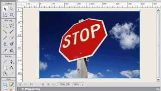 Adobe Fireworks Tutorial - Polygon Lasso Tool
