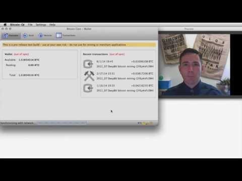 Sending Bitcoin - Part 1