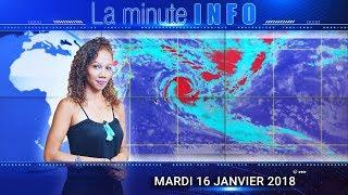 LaMinuteInfo: le cyclone Berguitta aussi intense qu'Hollanda