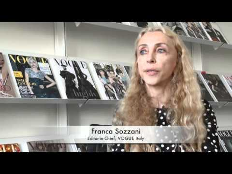 FRANCA SOZZANI, VOGUE ITALY, WORLD FASHION WEEK Interview by