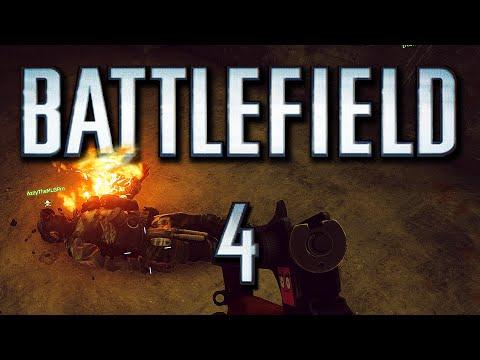 Battlefield 4 Funny Moments - Artillery Trucks, Jeep Surf,  Best Fire Troll! (BF4 Funtage!)