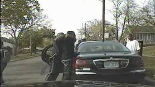 Dash cam video of assault  on Kalamazoo Public Safety Officer Anthony Morgan