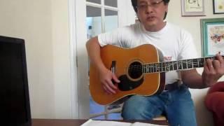 Il faut toujours en perdant - sing/guitar cover