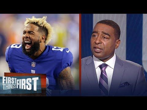 Cris Carter: Unless Odell is baby Jesus, the Giants aren
