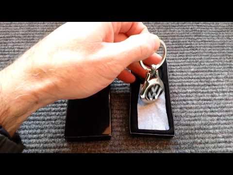 vw chrome key ring from motorlicious.co.uk