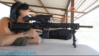 Repeat youtube video TrackingPoint AR-556 Hands on