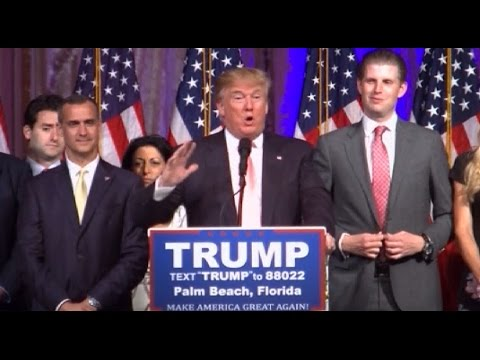 Trump gives victory speech after Super Tuesday 2