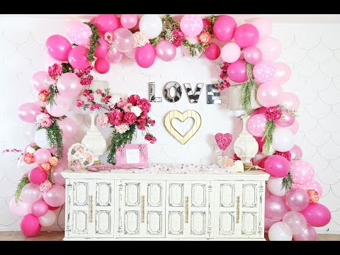 DIY Balloon Garland and Easy Party Decor