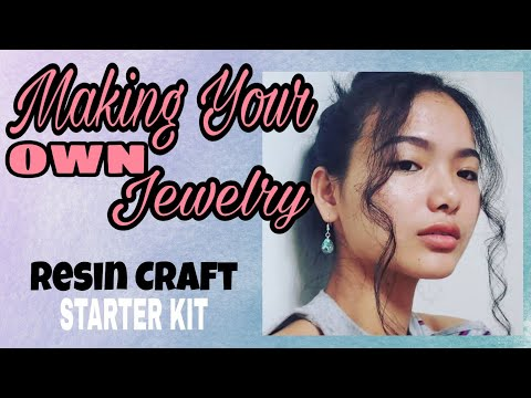 Resin Art (Starter Kit) | Intro to Resin Jewelry/Personal Accessories