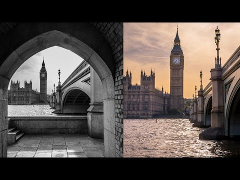 Travel Photography in London!! - The best Spot to Photograph The Big Ben and The Westminster Abbey!
