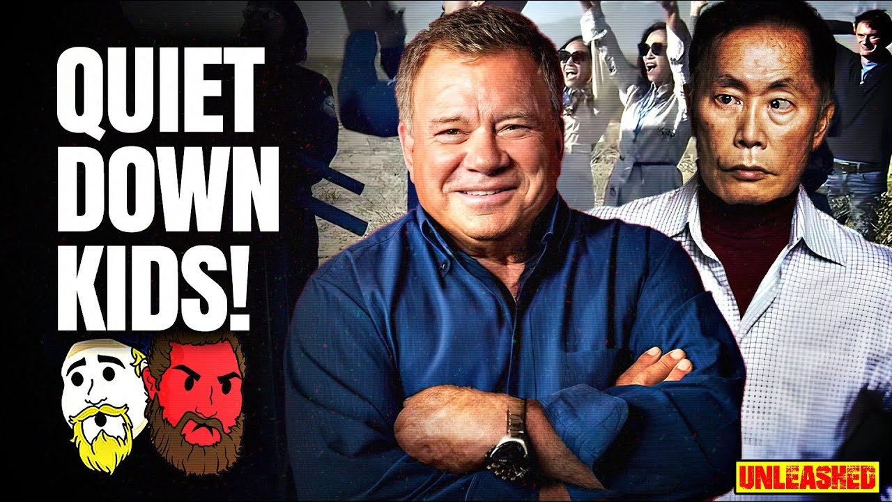William Shatner returns from SPACE to a planet of jealous screaming ...