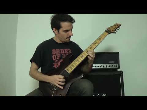 The Faceless - Digging The Grave - Cover Solo2 with tab