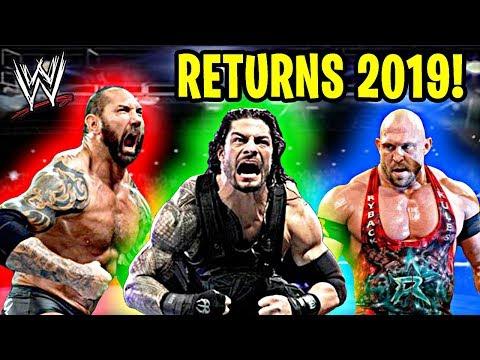 10 Most Shocking WWE RETURNS of 2019!