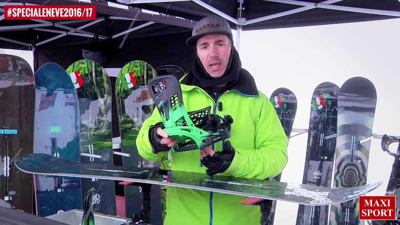Snowboard tech burton the channel