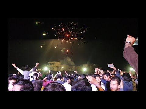 Qawalistan | live Performance | CUST University with fire works | YouTube 2018
