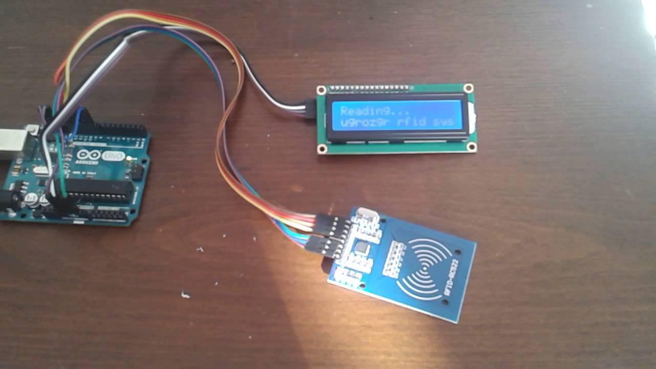 Arduino RC522 RFID ile Kart Okuma